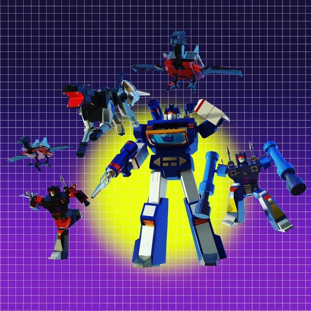 Reposting: IG @chadsmarkers Soundwave and minions. #soundwave #laserbeak #buzzsaw #rumble #ravage #frenzy #cassette decepticons #transformers #transformersg1 #robot #blender3d #3dart #3ddesign #lowpoly #polygon #soundwavesuperior #blender