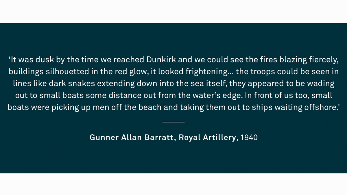 #OnThisDay 80 years ago, the Miracle of Dunkirk began. This operation, resulting in 328,000 Allied troops being shipped back to England across the Channel, has been much mythologised. But what was the context of the evacuations? More on summer, 1940: bit.ly/3erU9hL
