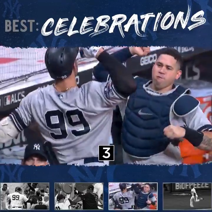 Clutch plays and hype reactions. Which celebration is your favorite?