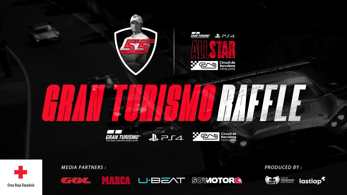 🎁 We are celebrating this Friday's #AllStarGTCircuitCat with a raffle for you!!  😍 Guess the fastest lap time of the final race and you will get a free code to play the Gran Turismo Sport on your PS4!! https://t.co/64A7Mq4TkQ