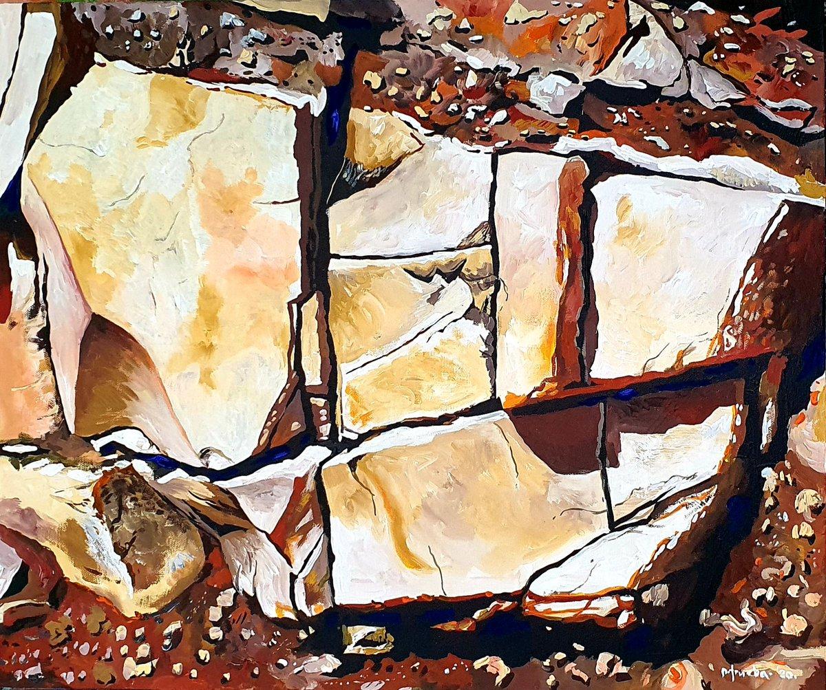 #rocas #piedras #rock #stone #PedroTrueba #art #arte #artistaplástico #pintura #painting #artistavisual