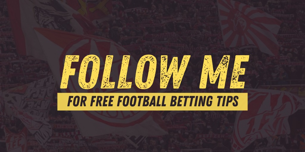 👉🏼 Give me a follow @AndyRobsonTips 👉🏼 Free football tipster 👉🏼 I don't promise guaranteed winners but I do promise well researched betting tips 👉🏼 I spend time researching so you don't have to 👉🏼 I back all my own bets