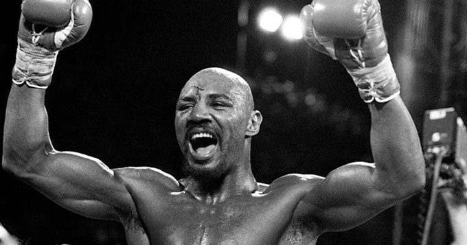 Happy bday to Marvelous Marvin Hagler, the greatest Middleweight of all time.