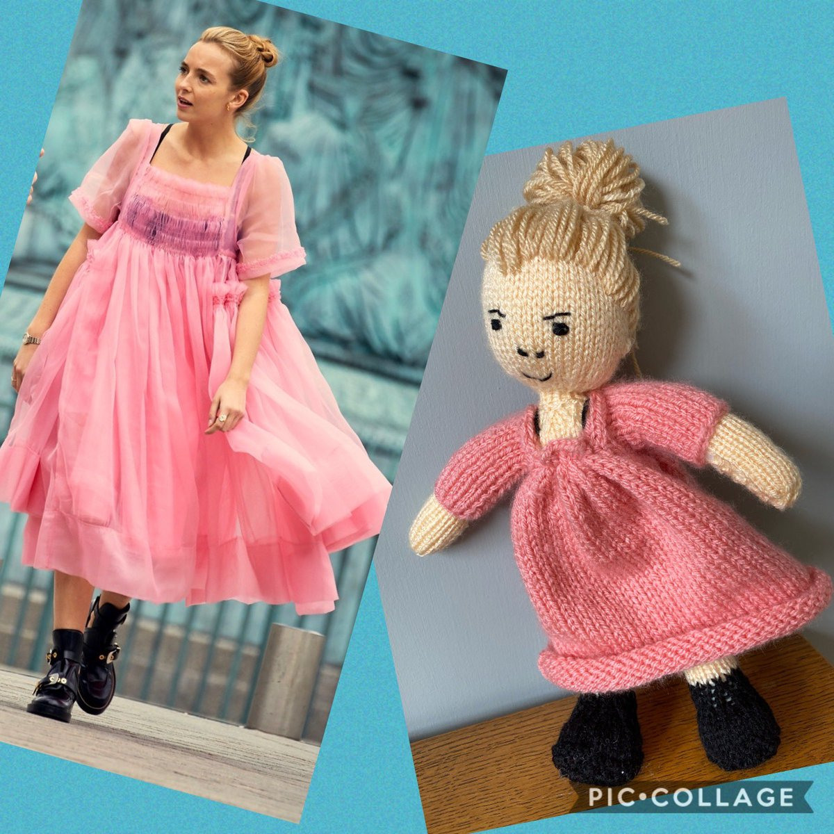 @BBCTheOneShow I knitted Vilanelle from Killing Eve during lockdown #crafting pic.twitter.com/VeCPSx8NhU