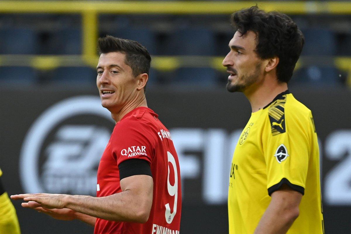 #Bundesliga 🇩🇪  💥 ¡La manda al palo Lewandowski!  🧐 El Bayern quiere sentenciar el partido  🟡⚫️ 0- 1 🔴🔴 (83')  #ENDIRECTO 📲 https://t.co/GEdTwJEmE9 https://t.co/MklhLA6Fxx