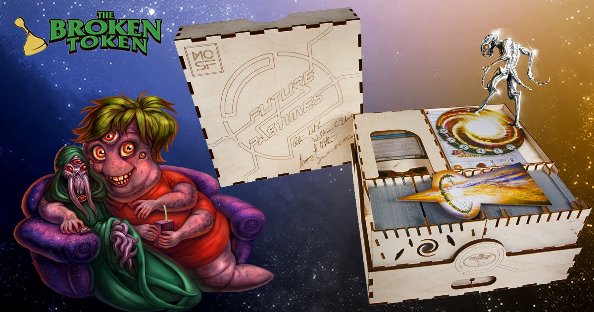 """There's room for all us in the Future Pastimes Collector's Edition Big Box by #TheBrokenToken. So says the Moocher. Makes a great #FathersDayGift. Specs are here: https://bit.ly/FPBigBoxBrokenToken …pic.twitter.com/Qwf0UHZuIp"
