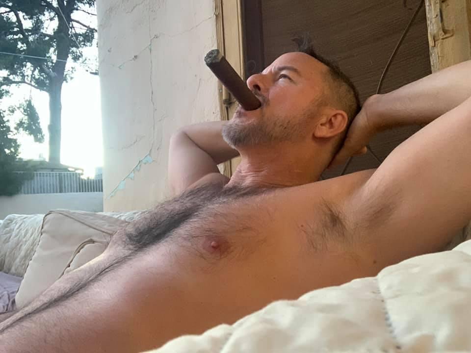 Cigar Smoking Men Straight Gay Porn Just