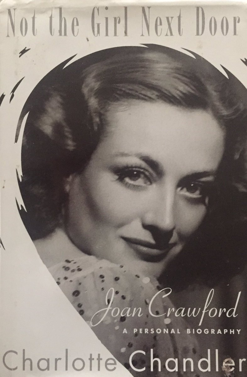 BOOK OF THE DAY: Sympathetic 2007 biography of movie legend by veteran biographer, who based her book on interviews with Crawford & luminaries who knew her#JoanCrawford#biography#book#moviestar#actress#OscarWinner#2007#CharlotteChandler#OldHollywood <br>http://pic.twitter.com/vC3UF2TQ0H