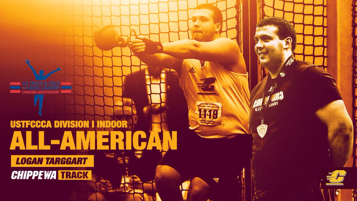 Next ⬆️, Logan Targgart who earned his 1️⃣st All-American honor in the weight throw‼️  Full Release⤵️ 📰:   #FireUpChips 🔥⬆️ || @LoganTarggart
