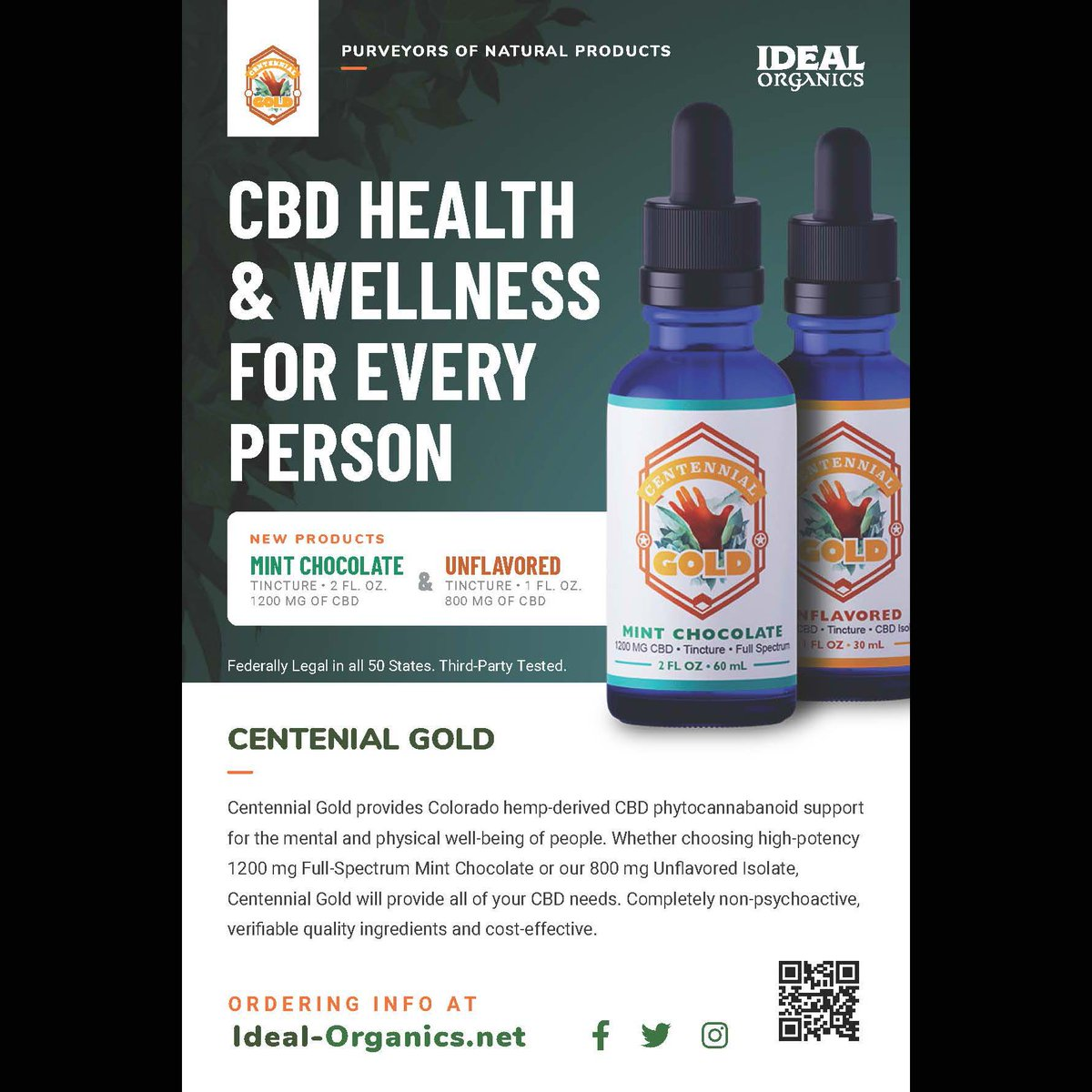 "High quality, non-psychoactive, potent CBD for an affordable price. All of our products are made using 100% USDA registered Colorado Hemp. Visit http://www.Ideal-Organics.net  for information and ordering. Enter code ""comicbook"" at checkout for a promotional 10% off until June 30th!pic.twitter.com/uniij2I356"