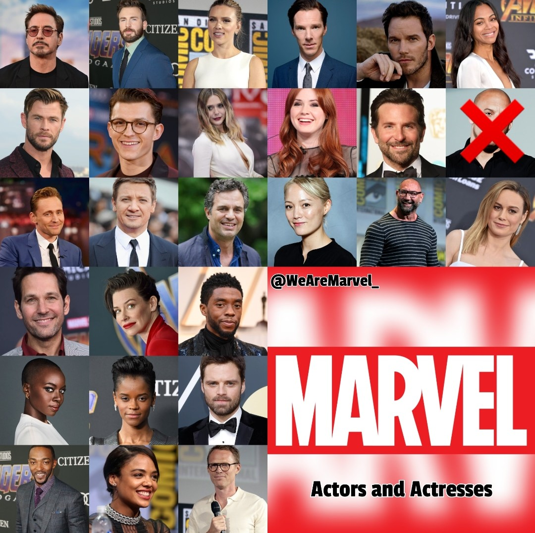 Vin Diesel is out.   Vote with +7, +6, +5, +4, +3, +2 and +1 to your favorite actors or actresses.  #AvengersEndgame #Avengers #ChrisEvans #RobertDowneyJr #ChrisHemsworth #ScarlettJohanssonpic.twitter.com/2lC1y1RGxn