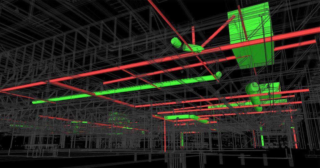 Construction projects mostly suffer from three types of clashes – hard clash, soft clash, and workflow clash. What is the role of GeoBIM in class detection?    #COVID19 #Construction #Technology #BIM #tech #revit #AEC #3dmodeling #3ddesign #architecture