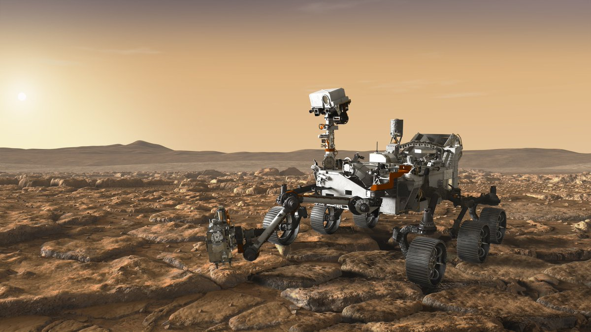 With the help of SHERLOC and WATSON, two instruments at the end of @NASAPersevere's arm, the rover will hunt for signs of ancient life on Mars by detecting sand-grain-sized clues such as organic molecules and minerals. go.nasa.gov/36wTtEL