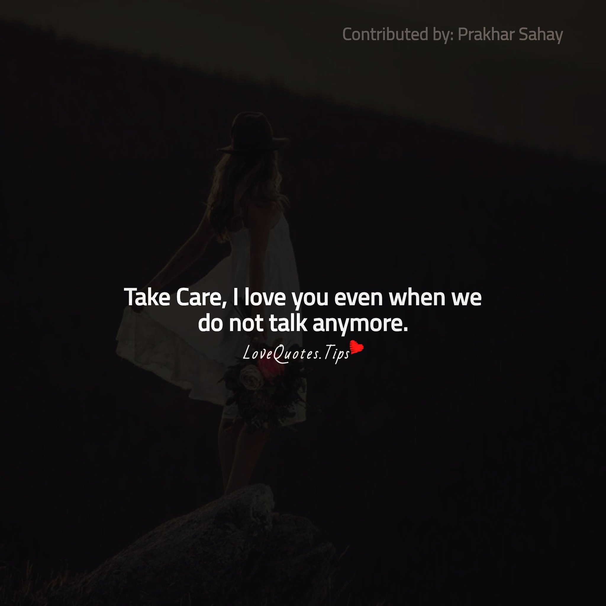 Take care love quotes