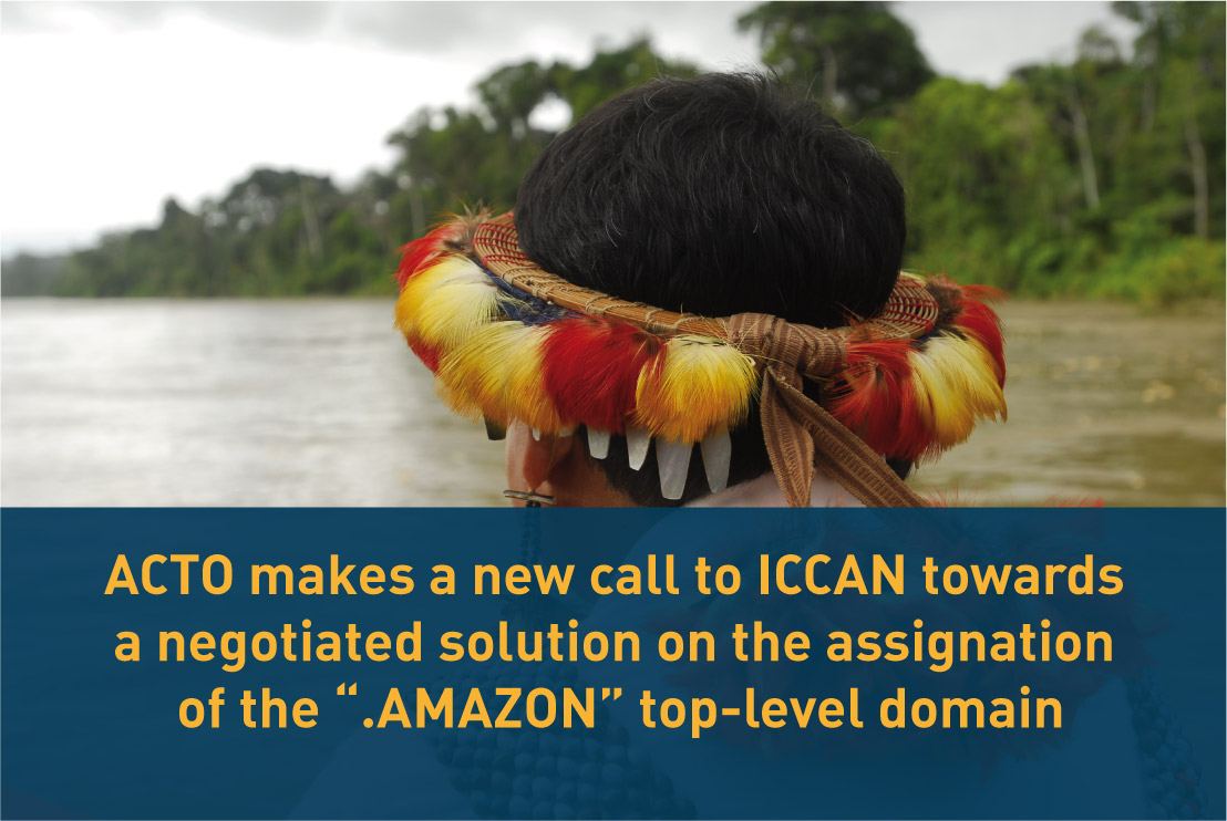 In a letter in response to the CEO of #ICANN, Göran Marby, the Secretary General of #ACTO, Alexandra Moreira, urged him to promote the resumption of dialogue with Amazon Inc. in order to reach a mutually acceptable solution:  https://t.co/6CsgWshzDC https://t.co/BJ0YxkawJs