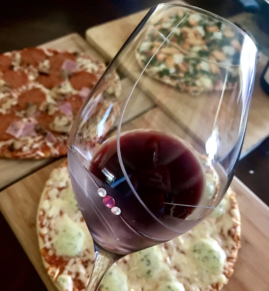 When pizza is served  #wine  must be poured... right?   #TuesdayThoughts   Happy Tuesday!!! <br>http://pic.twitter.com/dzOyyDxERu
