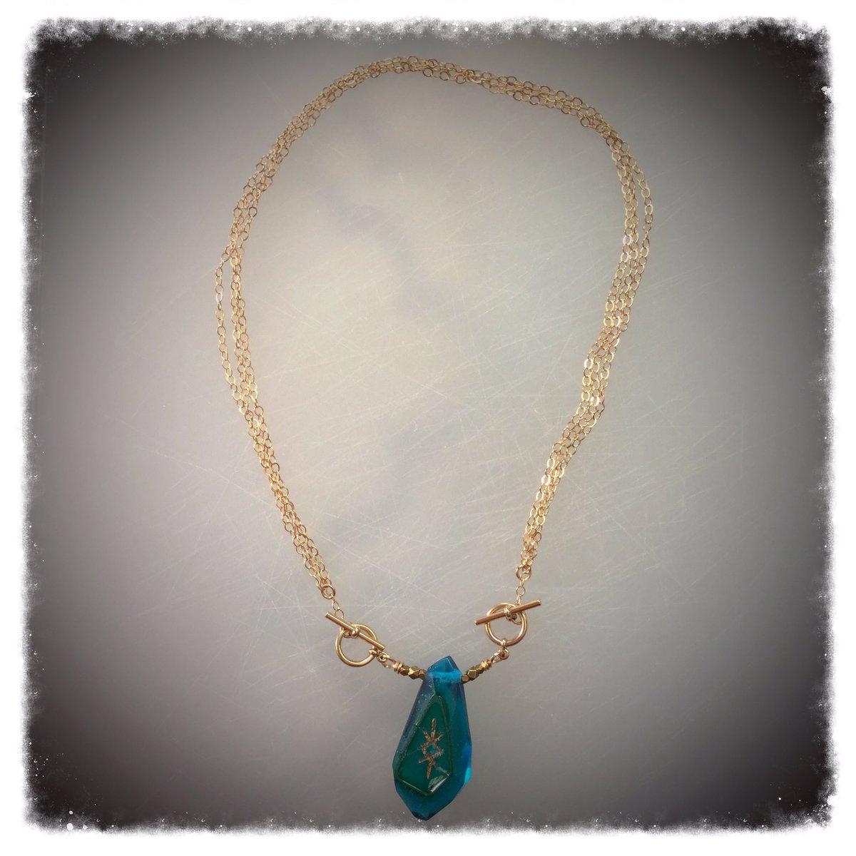 Bind-Runes Necklace #jewelry #JewelryDesigner #jewelrydesign #JewelryLover