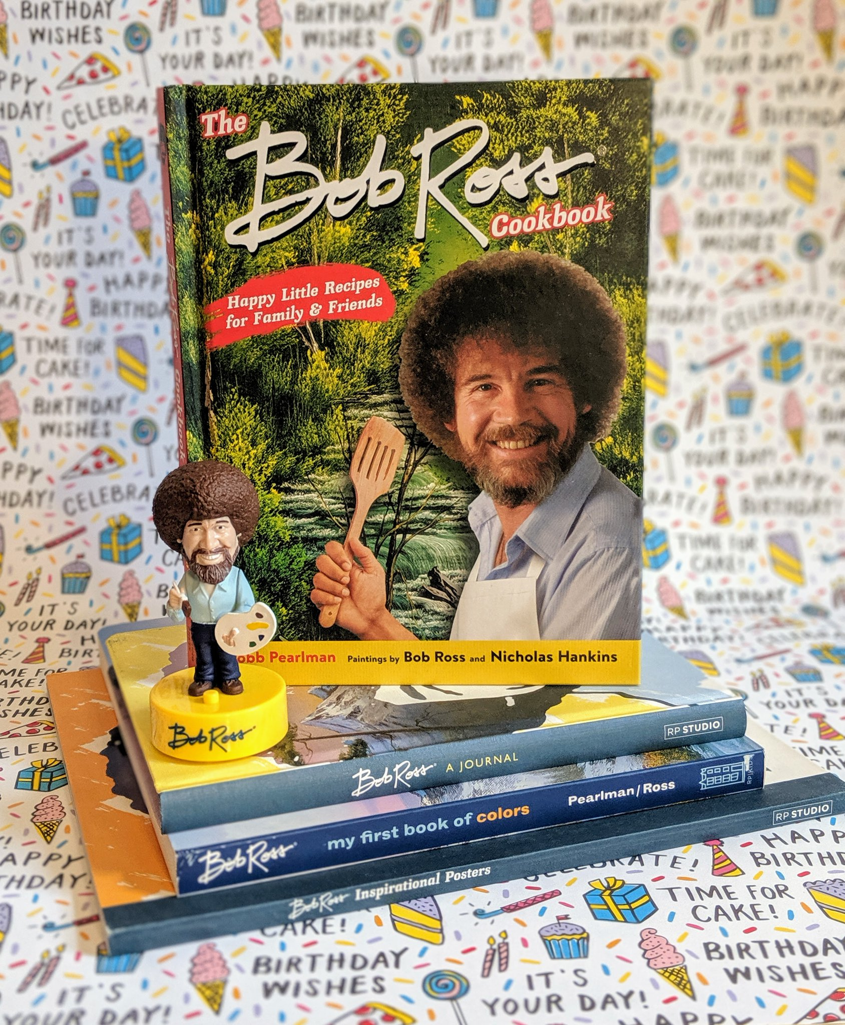 Bob Ross Official On Twitter Happy Book Birthday To The New Bob Ross Cookbook By Robb Pearlman Msmazeppa And Illustrated By Nichankins The Joy Of Bob Ross Meets The Comfort Of Your