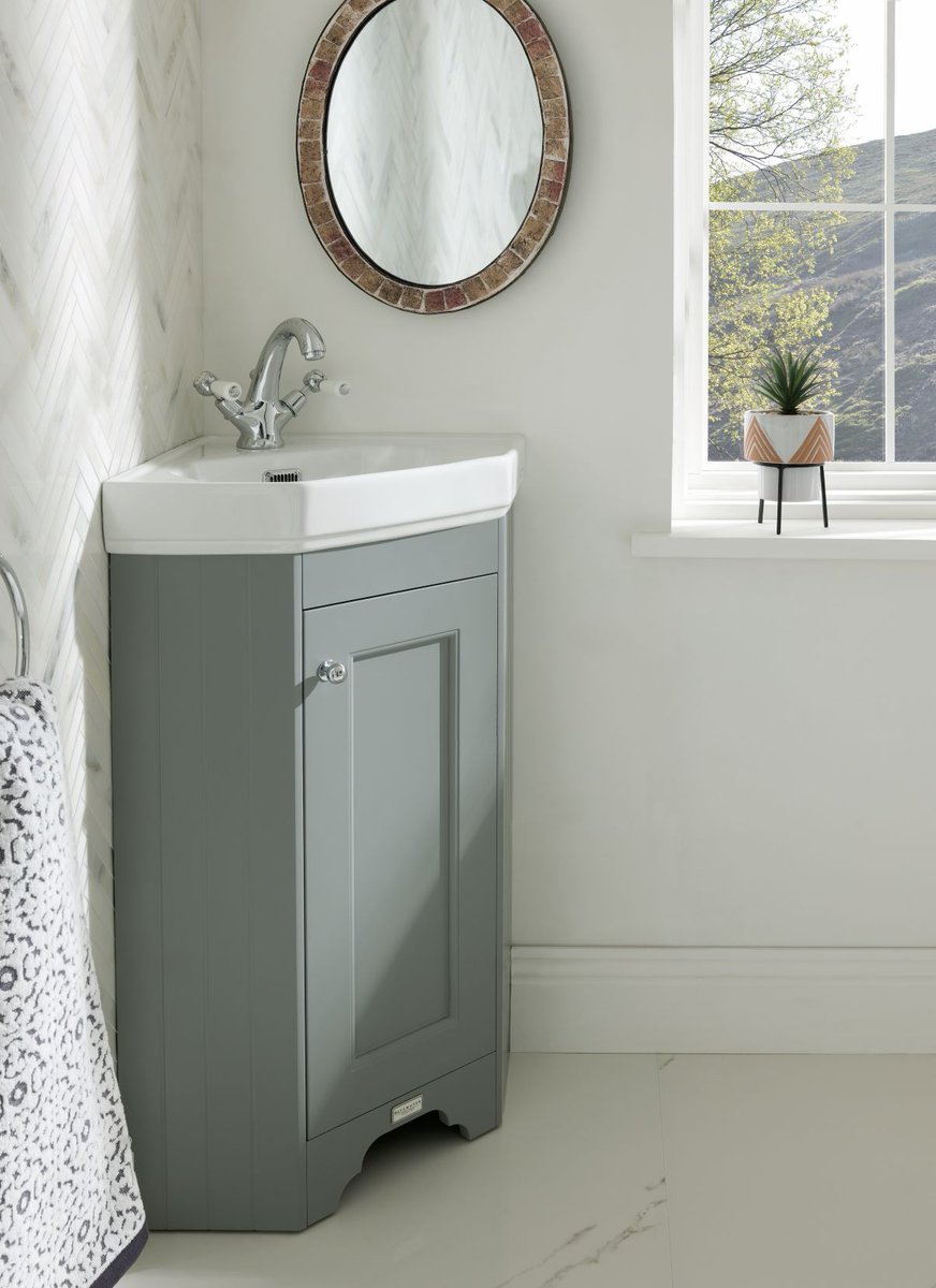 Bayswater Bathrooms On Twitter Our Compact Corner Unit Is A New Addition To The Bayswater Furniture Range And Sits Snugly Under You Guessed It Our Fitzroy Corner Basin Available In Our Three