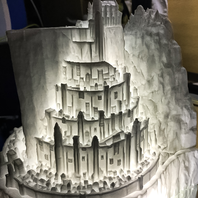 The beacons are lit! Gondor calls for aid... And #myminifactory will answer ⚔️ Minas Tirith you are glowing 😍  Incredible #3ddesign by Claven Moo. Any #Tolkein lovers out there? Download and #3dprint your own White City of #gondor below:  #lordoftherings