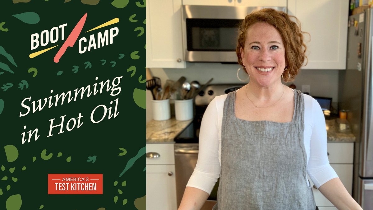 America S Test Kitchen On Twitter A New Episode Of Test Kitchen Bootcamp Is Here Before You Heat Up The Oil Learn These Smart Techniques And Safety Tips For Fearless Frying With Ashley