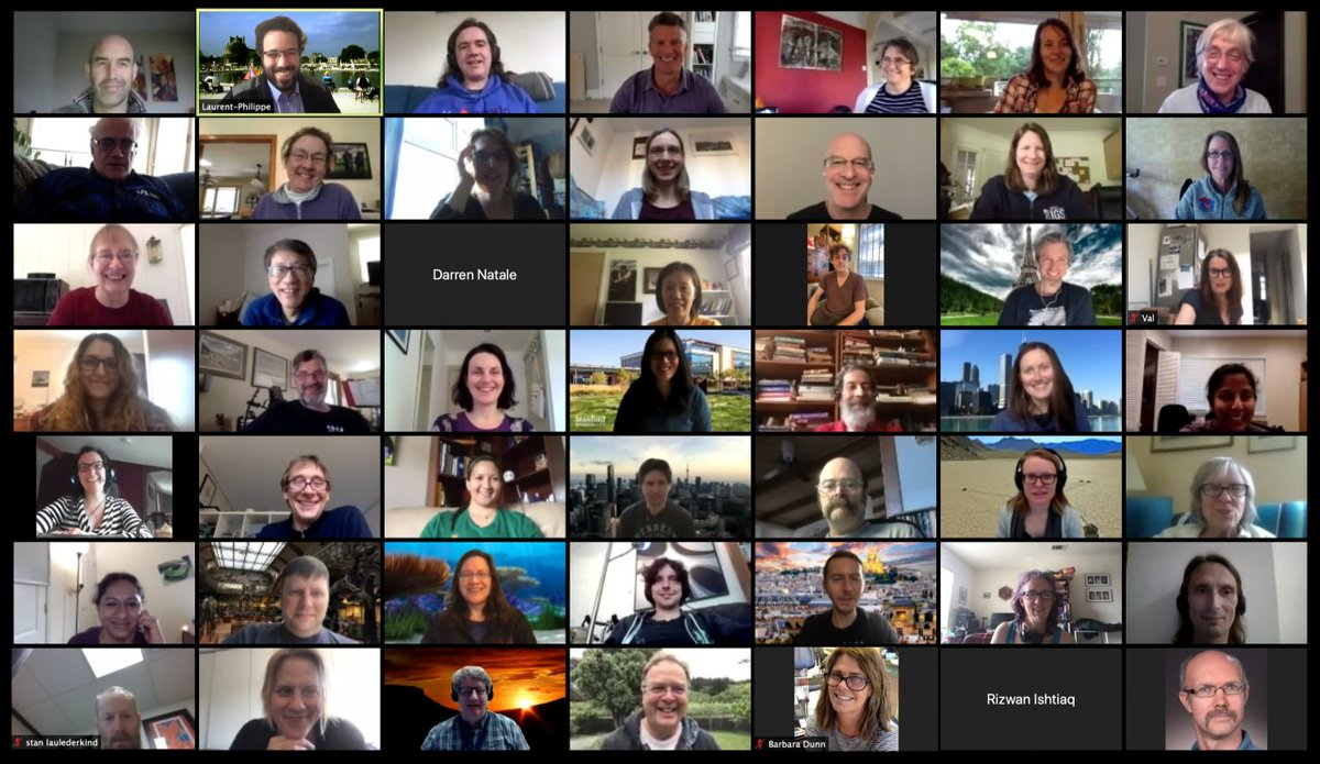 And that concludes quite a successful GO #VirtualConference! Thanks to all GOC & all guests for a fantastic meeting! @alliancegenome @BerkeleyLab @FlyBaseDotOrg @ISBSIB @mgi_mouse @PomBase @ratgenome @reactome @rhea_db @tair_news @UCLgene @uniprot @wormbase @yeastgenome @ZFINmod https://t.co/3MmfMUgxNj
