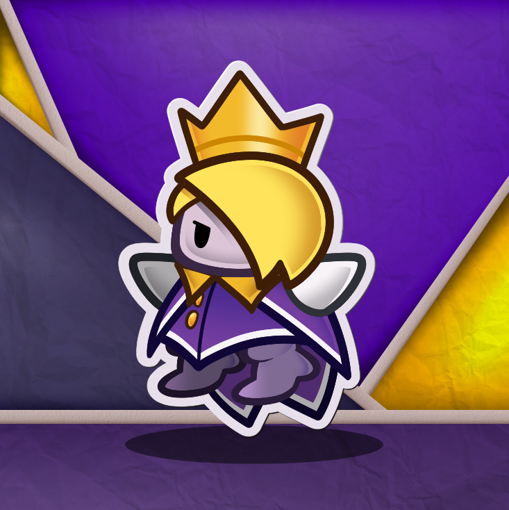 paper mario origami king characters png