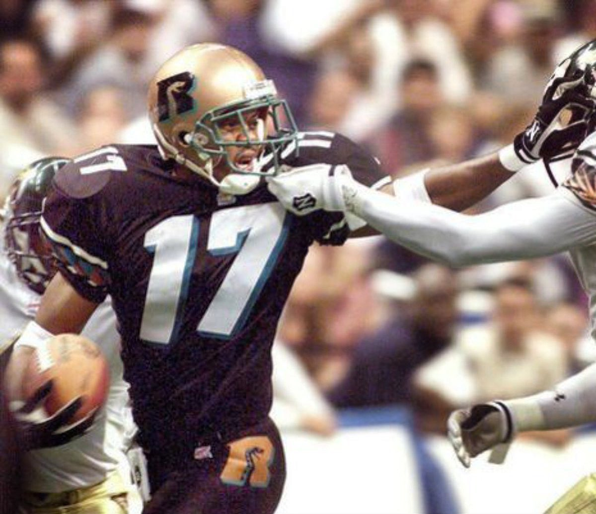 #TBT to 2 time AFL Ironman of the year 🏆 and AFL Hall of Famer: Wide Receiver Randy Gatewood #StrikeAsOne 🐍 https://t.co/uREPE8t7pW
