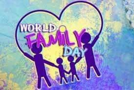 Happy International Family day!! Stay blessed with your wonderful Families!! #FamilyDay  IMAGES, GIF, ANIMATED GIF, WALLPAPER, STICKER FOR WHATSAPP & FACEBOOK
