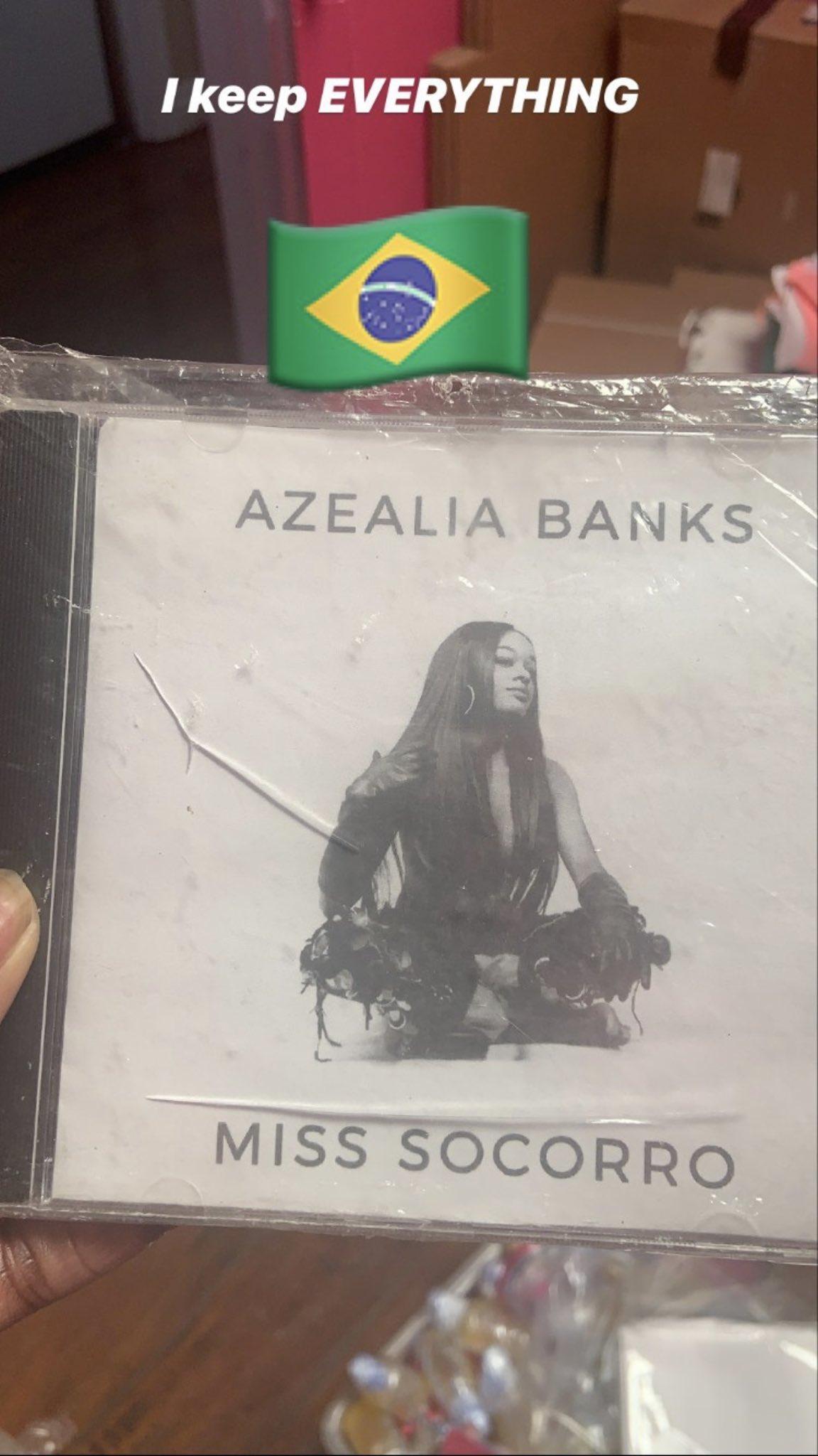 Anos após desrespeitar fãs brasileiros, Azealia Banks posta mensagem de carinho ao Brasil; confira