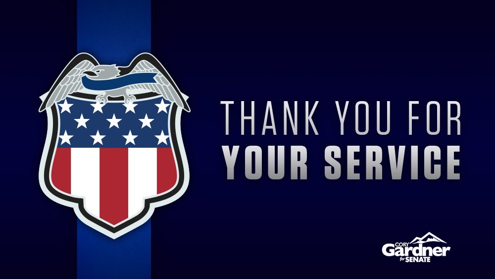 During #NationalPoliceWeek we remember the police officers in our communities who sacrifice so much to keep us safe. Thank you for all you do.