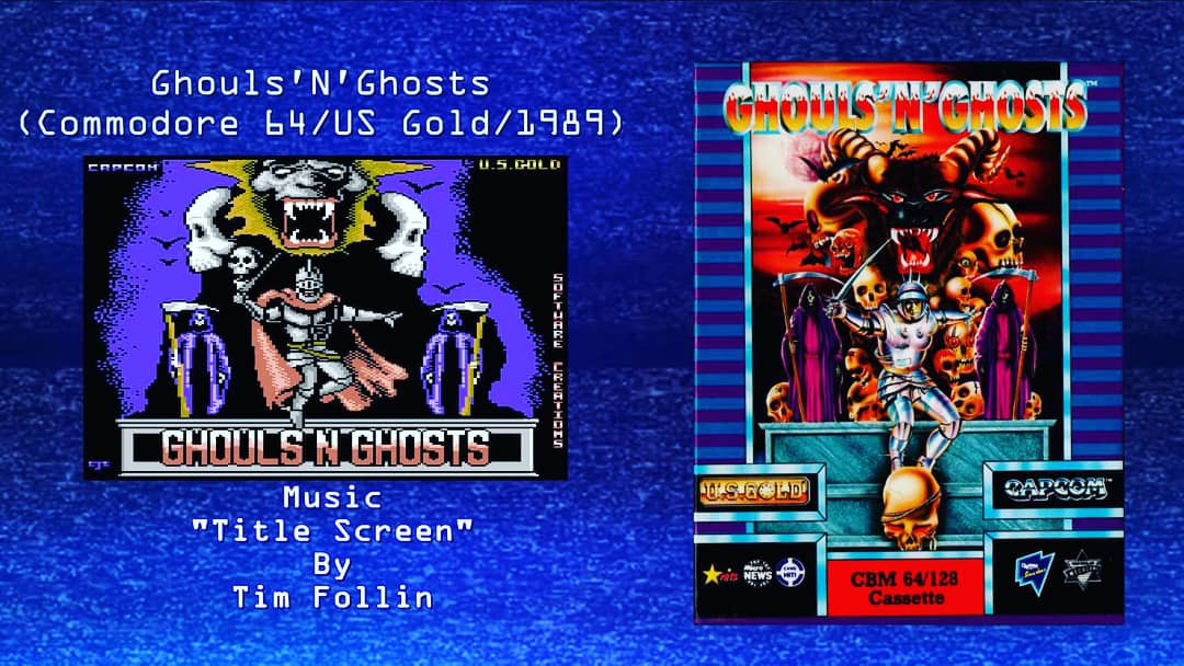 """My latest episode of Wired for Sound features """"Ghouls 'N' Ghosts"""" by Tim Follin on the C64 . Link below to video    @EC64Forum #c64 @EC64Main #Commodore64 #chiptune #chiptunes #timfollin #sidmusic #ghoulsnghosts"""