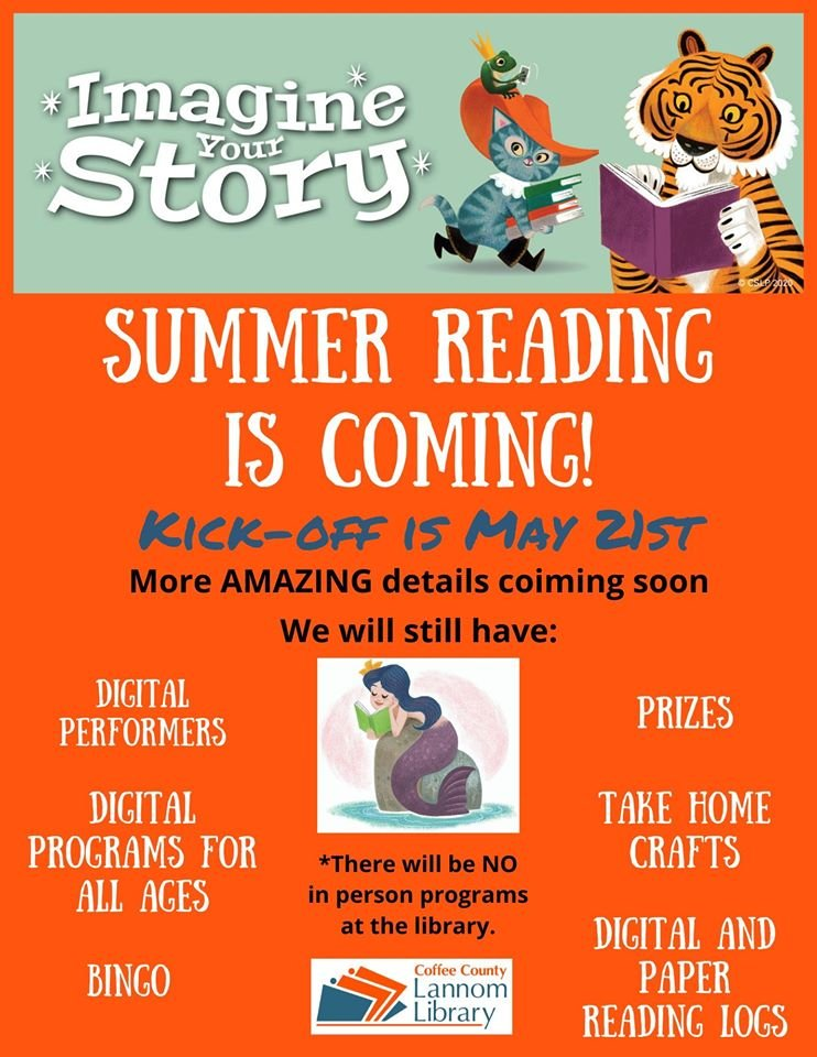 Check out the latest information on our summer reading program this year! https://t.co/4RYwJeTkCQ