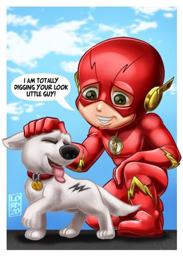 """""""Branding Buds"""" Inspired by a suggestion made in response to my Bolt Pop Prop post #lordmesaart #theflash #bolt #illustration #clipstudiopaint @clip_celsys  #stayhomepic.twitter.com/rnWBrv7OKn"""