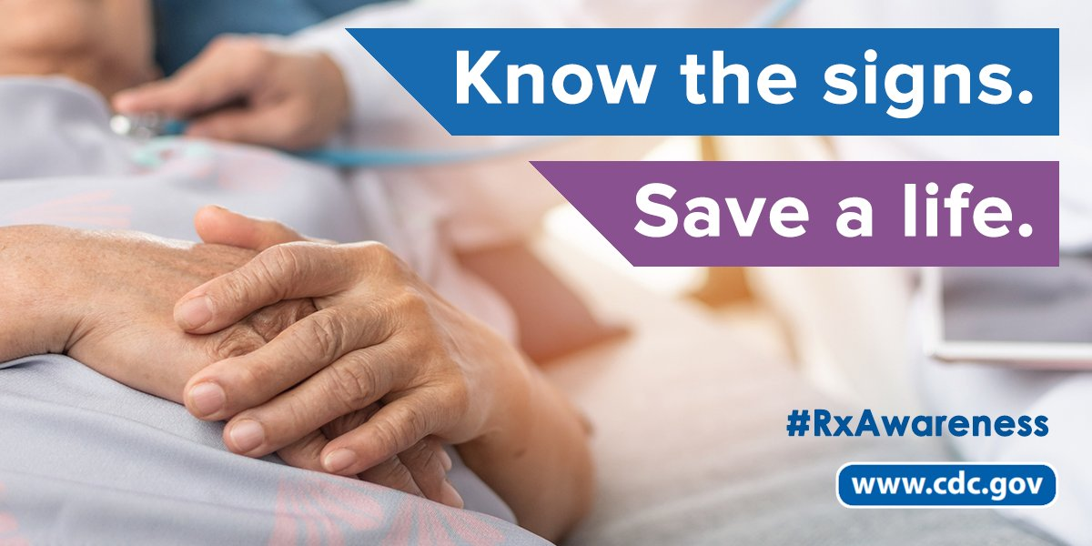 Know how to recognize an #opioid overdose. This can make the difference in saving a life. Learn more: go.usa.gov/xdfbF