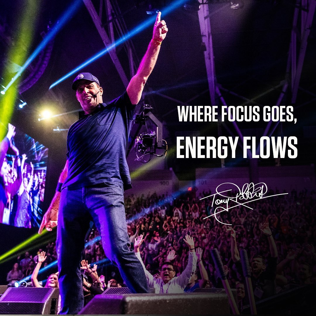 Where FOCUS goes, energy flows! Remember, what we FEEL is a result of what we're choosing to FOCUS on.
