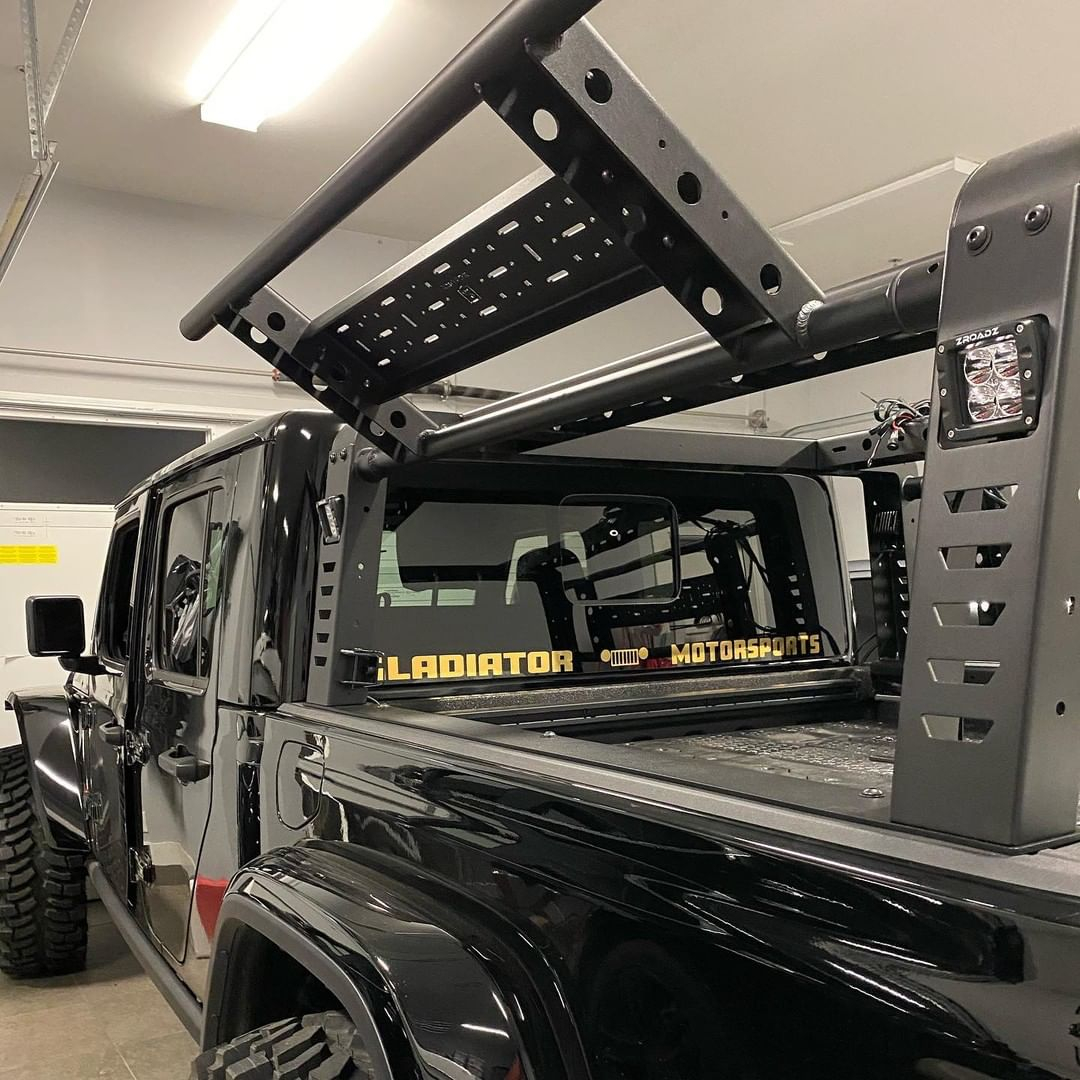 Zroadz Dynamic Led Mounting Solutions On Twitter Gladiatormotorsports Installed The New Zroadz Overland Access Rack With Lifting Side Gates And Called It The Dopest Overland Rack In The Game Gladiator Overland