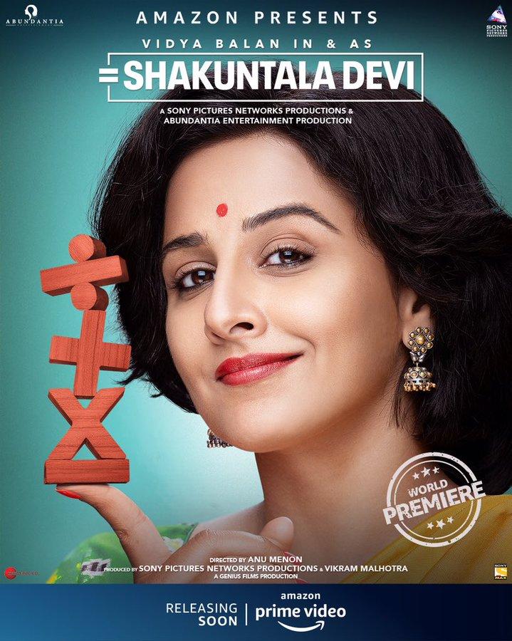 Shakuntala Devi on Amazon Prime