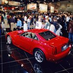 Image for the Tweet beginning: In 2004, the @Cadillac #XLR