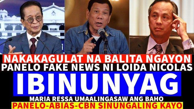NAKAKAGULAT NA BALITA NGAYON MAY 15,2020 PRES DUTERTE/ATTY PANELO/ABIAS-CBN FAKE NEWS IBINUNYAG -  (2020)