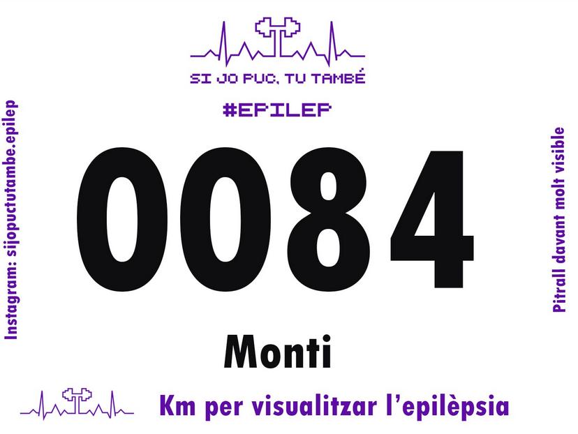 """El 24 de maig és el Dia de l'Epilèpsia i des del C.N. Tàrraco us animem a participar a la iniciativa """"Km per visualitzar l'epilèpsia"""". El nostre entrenador Monti ja té el seu dorsal! #kmxepilepsia #sijopuctutambe_epilep #EpilepsyDay Consulta instagram @sijopuctutambe.epilep https://t.co/FhP0npBYao"""