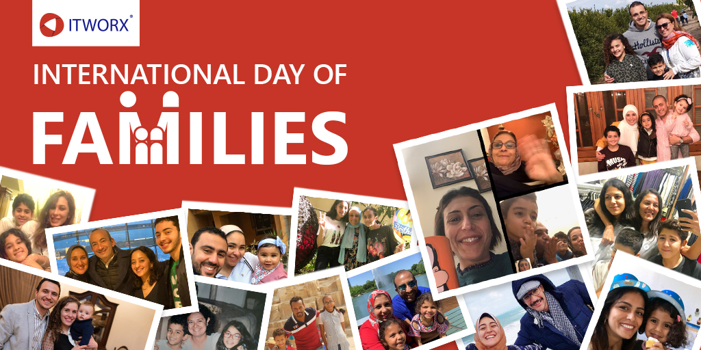 Family always comes first. Although this might be our first #InternationalFamilyDay to spend physically apart from our families, ITWorxians remain connected with their beloved ones. We encourage you all to enjoy the virtual celebrations and stay connected. #ITWorx #LifeAtITWorx https://t.co/akptCcgNpw