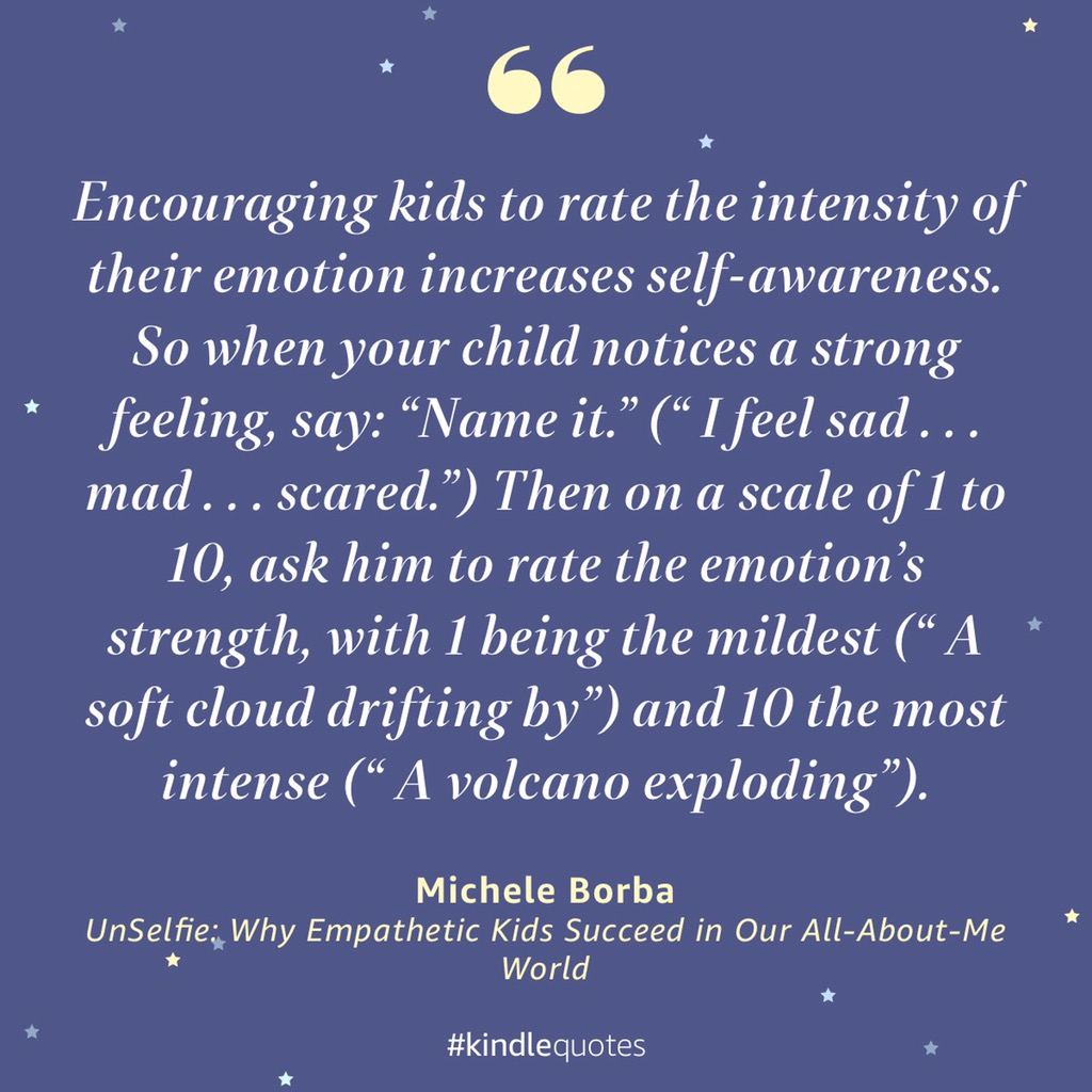 Find a way to help your child express his feelings-before stress builds-so you can empathize & he can regulate