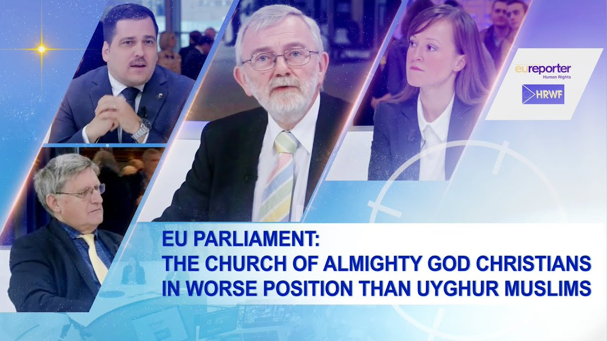 EU Parliament: The Church of Almighty God Christians in worse position than Uyghur Muslims #Muslims Source:https://www.youtube.com/watch?v=fiBoKyl6Qms…pic.twitter.com/hdgG6sKPXN