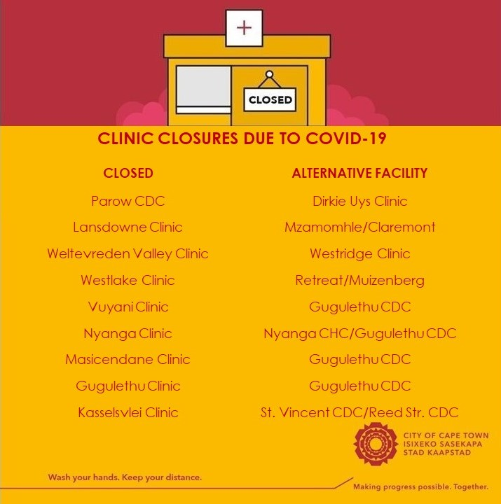 Healthcare facilities are at greater risk of COVID-19 exposure. The City's focus is to ensure that positive cases are detected early and measures are put in place to limit spreading. Where clinics need to be closed for decontamination, residents are referred to nearby facilities. https://t.co/R7UEse3tIA