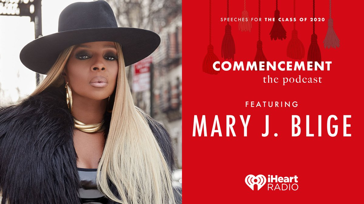Good Morning fam!! Its GraduationDay!🎓 Even though we cant celebrate together, I wanted to make sure the Class of 2020 gets the commencement they deserve. Listen to my graduation speech on the @iHeartRadio Commencement Podcast NOW! #iHeartClassOf2020 ihr.fm/iHeartCommence…
