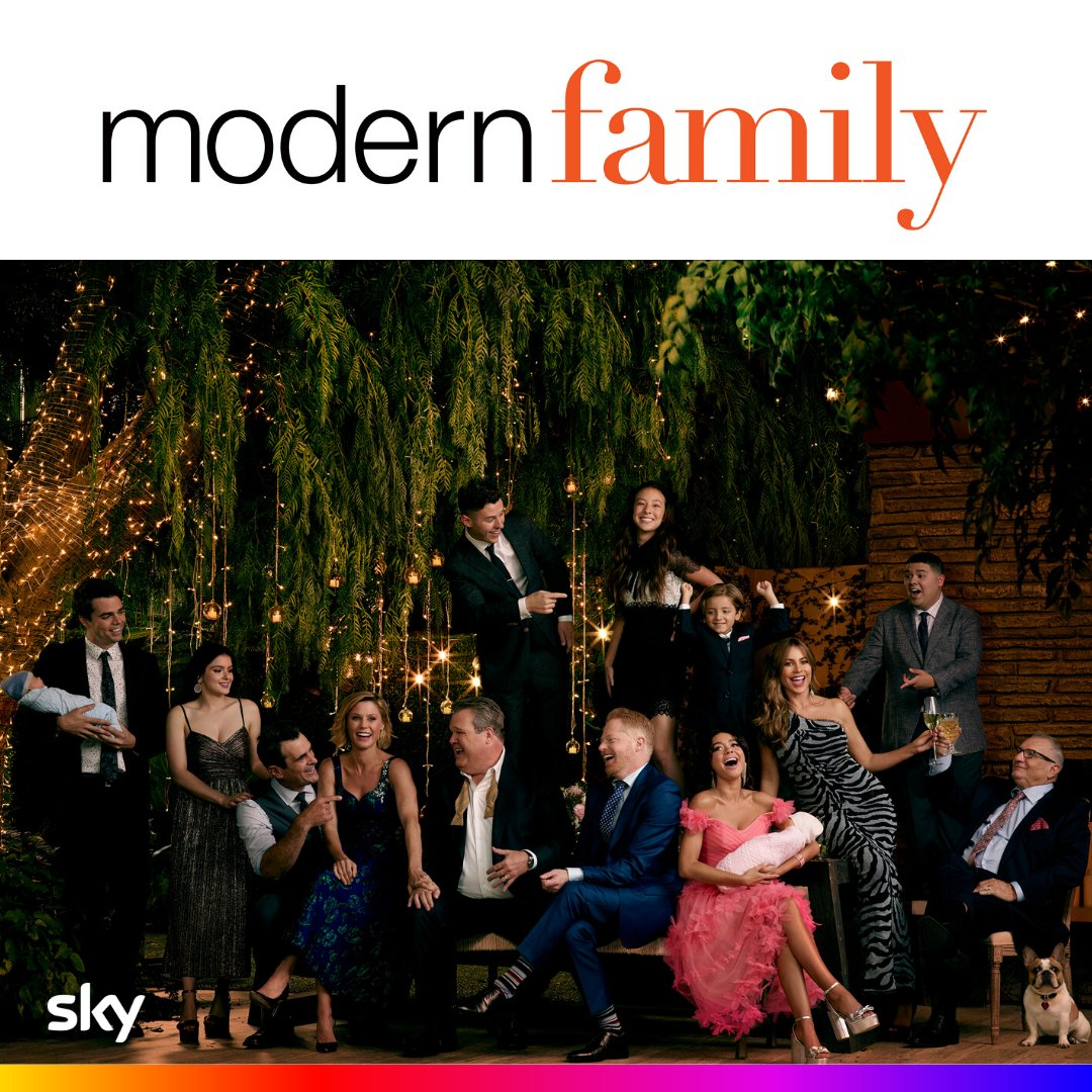 @SkyIreland's photo on #ModernFamily