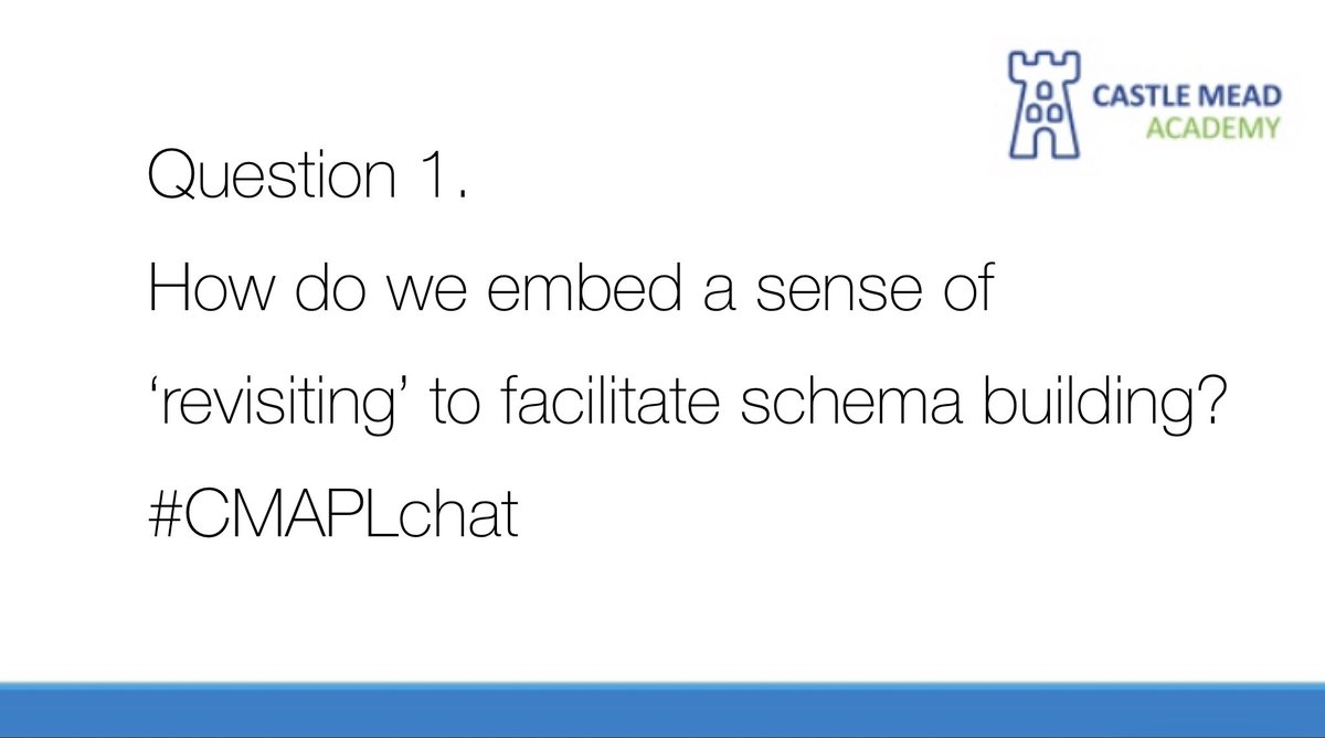 Here we go! Question 1. @teacherhead #CMAPLchat