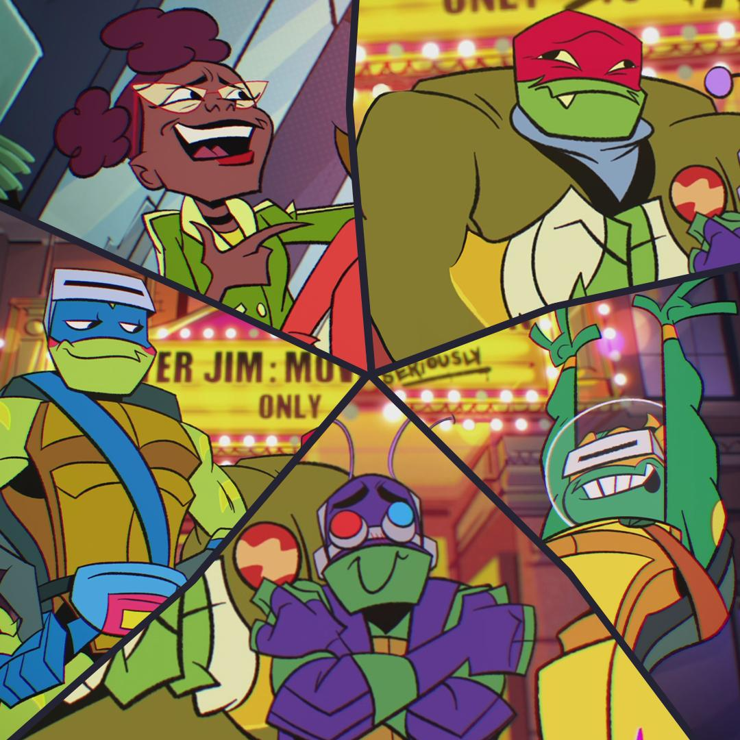 Tmnt On Twitter Raph Mikey Donnie Leo April The Whole