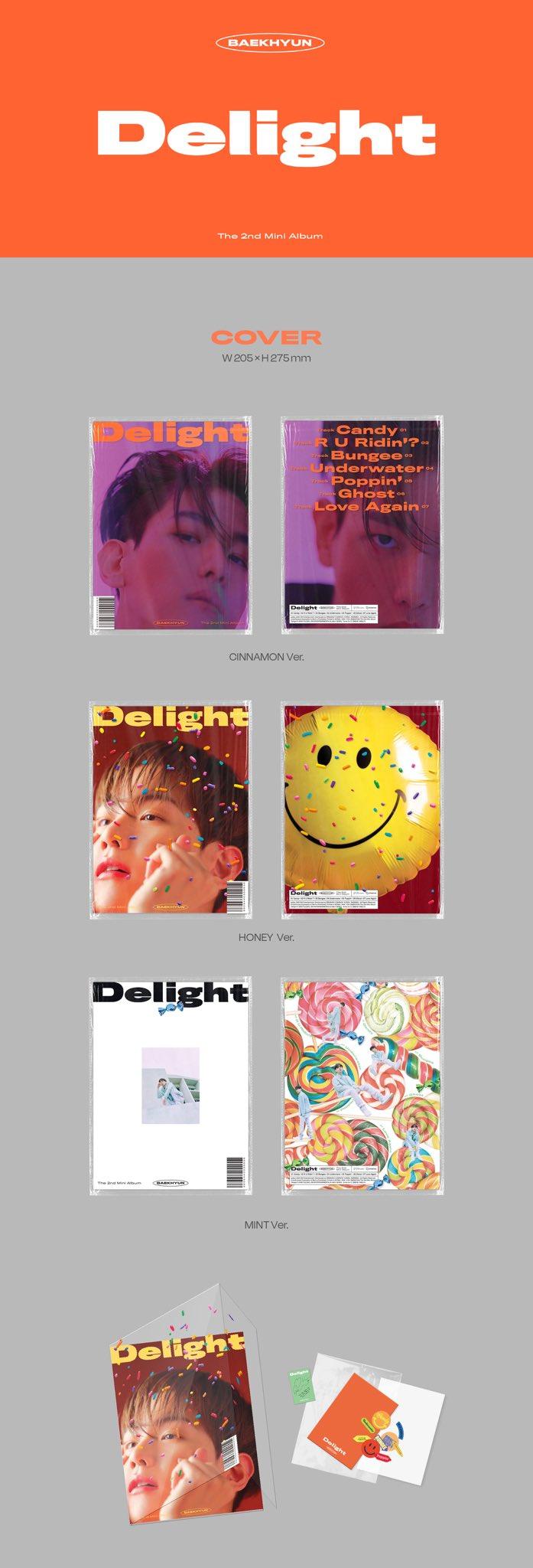"EXO on Twitter: ""백현 BAEKHYUN The 2nd Mini Album ['Delight ..."